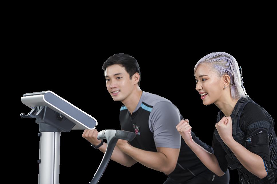 25 FIT| Tập Gym Với Công Nghệ EMS Training